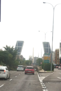 Everyday on my way to work I see these weirdly built towers