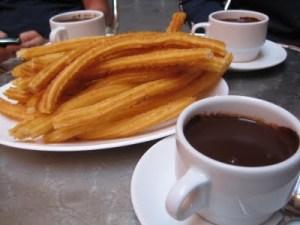 Churros and Chocolate at San Gines