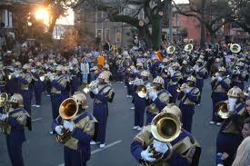 Marching bands: St Aug's Marching 100 pictured