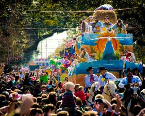 Mardi Gras floats